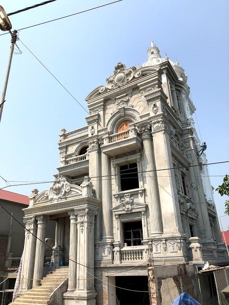 """Lâu đài """" Tân Cổ Điển """" Anh Ban - Thị trấn Sóc Sơn - Hà Nội - IMG 9352"""
